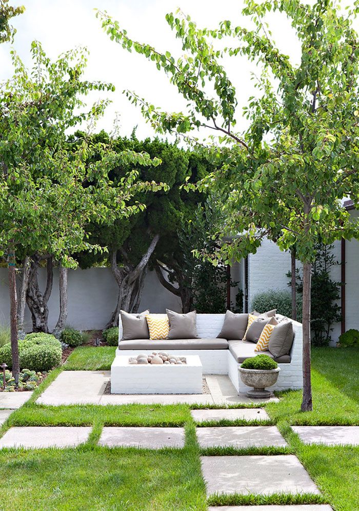 House banco para jardim 22 Espaos charmosos de relax