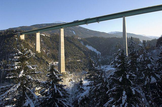 Europabrucke Brennerautobahn Brucke Osterreich Und Europa