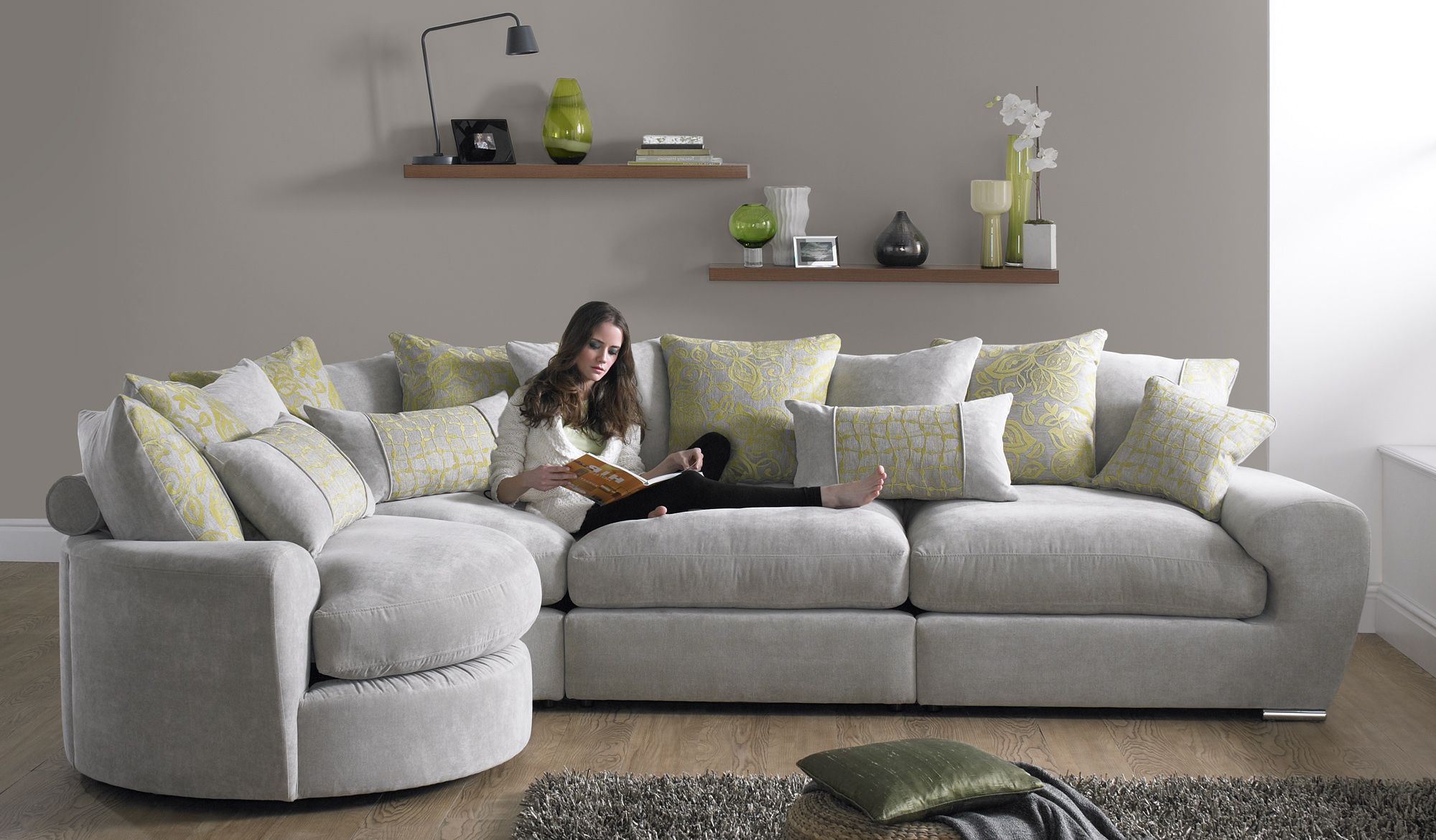 Corner Sofas And Corner Sofa Beds, Fabric U0026 Leather Corner Groups   CSL  Sofas