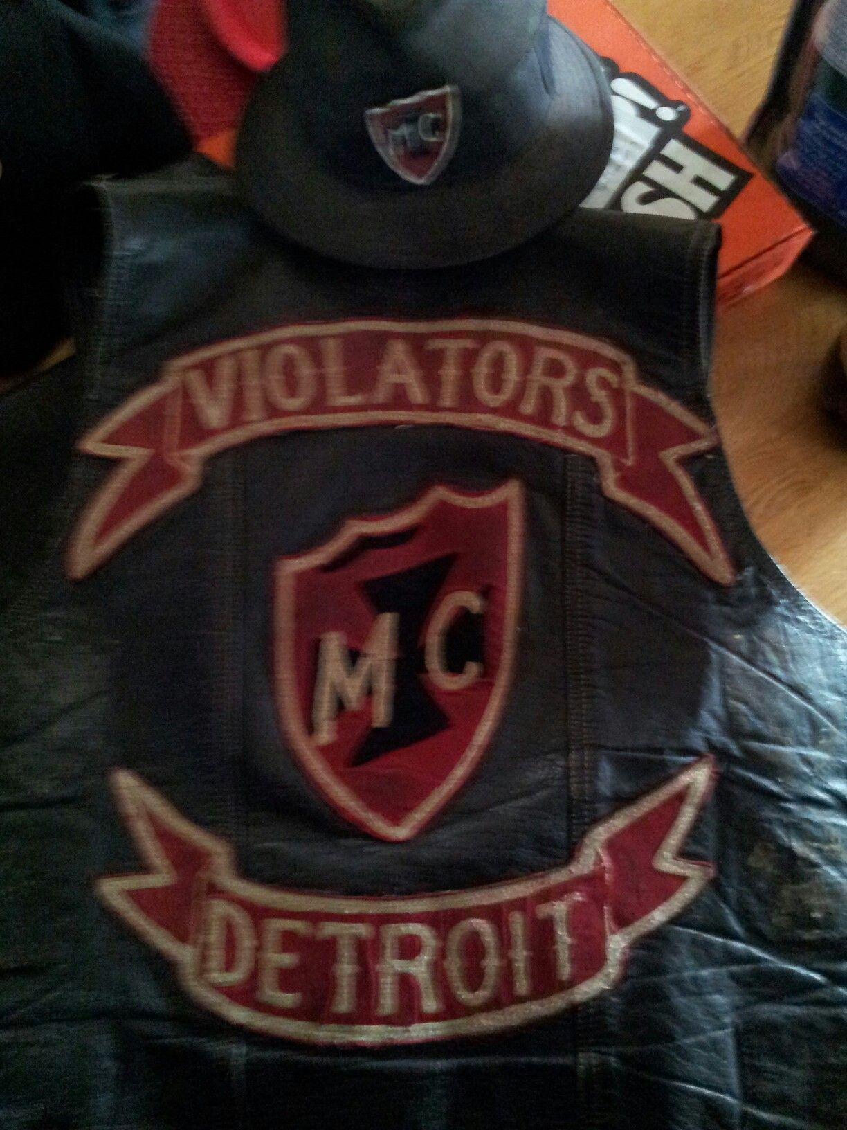 Pin by Charlie DuFresne on Violators MC Michigan | Sports, Vest