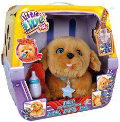 Cobi Littlelivepets Szczeniaczek Tulus Zabawkiinteraktywne Little Live Pets Animated Plush Top Christmas Toys