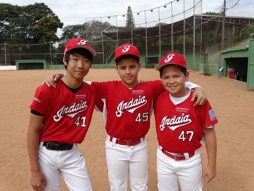 SOCIAIS CULTURAIS E ETC.  BOANERGES GONÇALVES: Beisebol infantil de Indaiatuba tem quatro jogador...