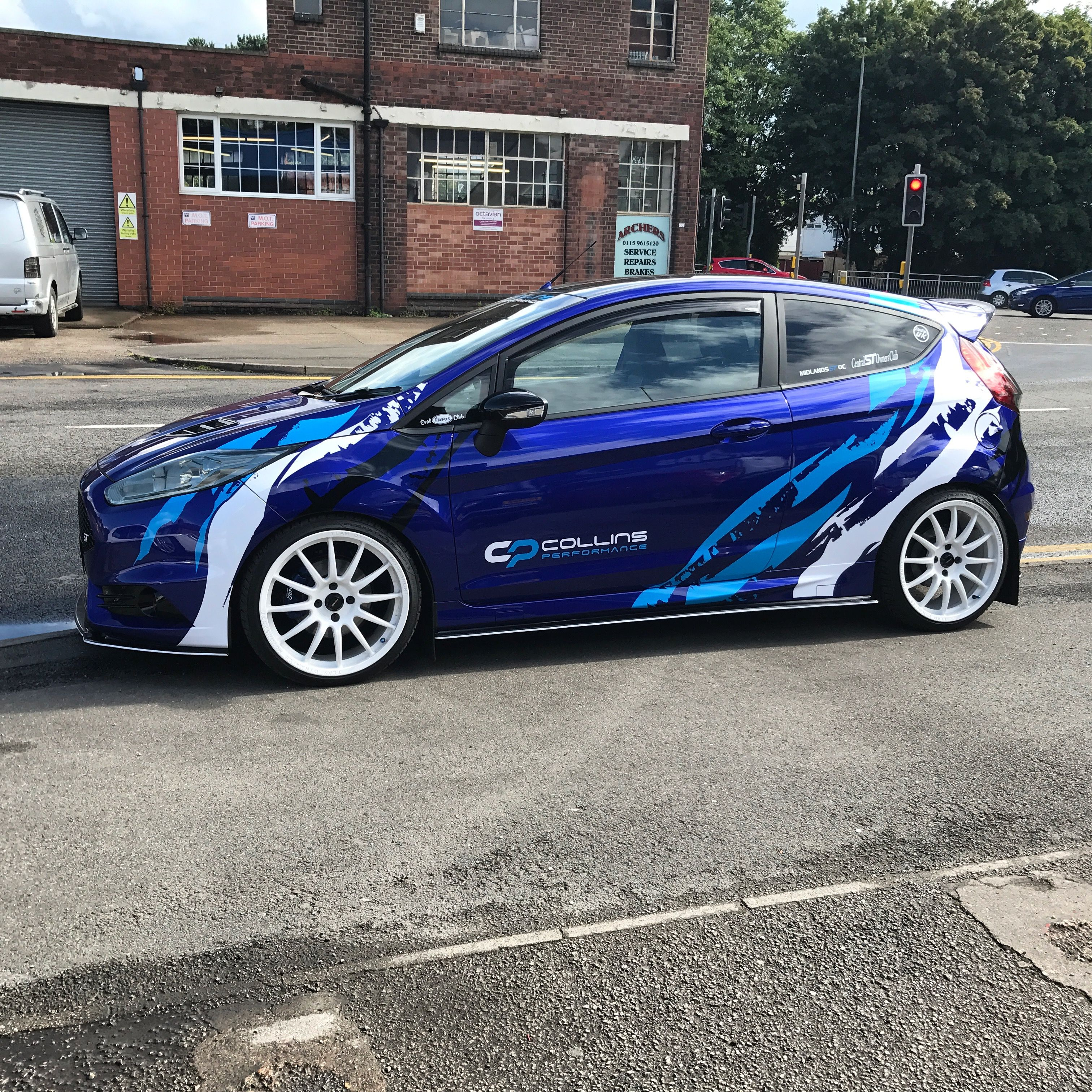 Ford Fiesta St3 Collins Performance Cp2 Ford Motorsport Ford Fiesta St Ford Fiesta
