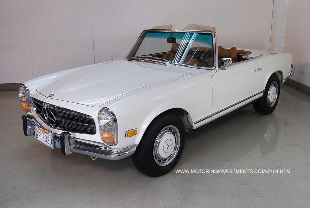 Mercedes pagoda for sale 1969 mercedes benz 280sl w113 for Mercedes benz 280sl pagoda for sale