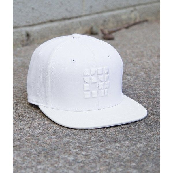 f9e00c17 Cult Of Individuality White Hat ($48) ❤ liked on Polyvore featuring men's  fashion, men's accessories, men's hats, white and cult of individuality