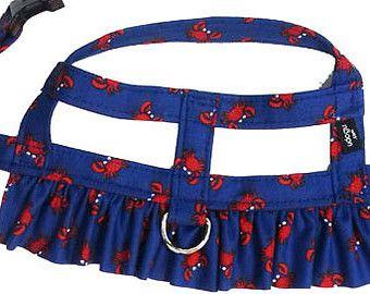 Daisy Mae Dog Harness Fancy Ruffle Harness From Udogu By Udogu Pet