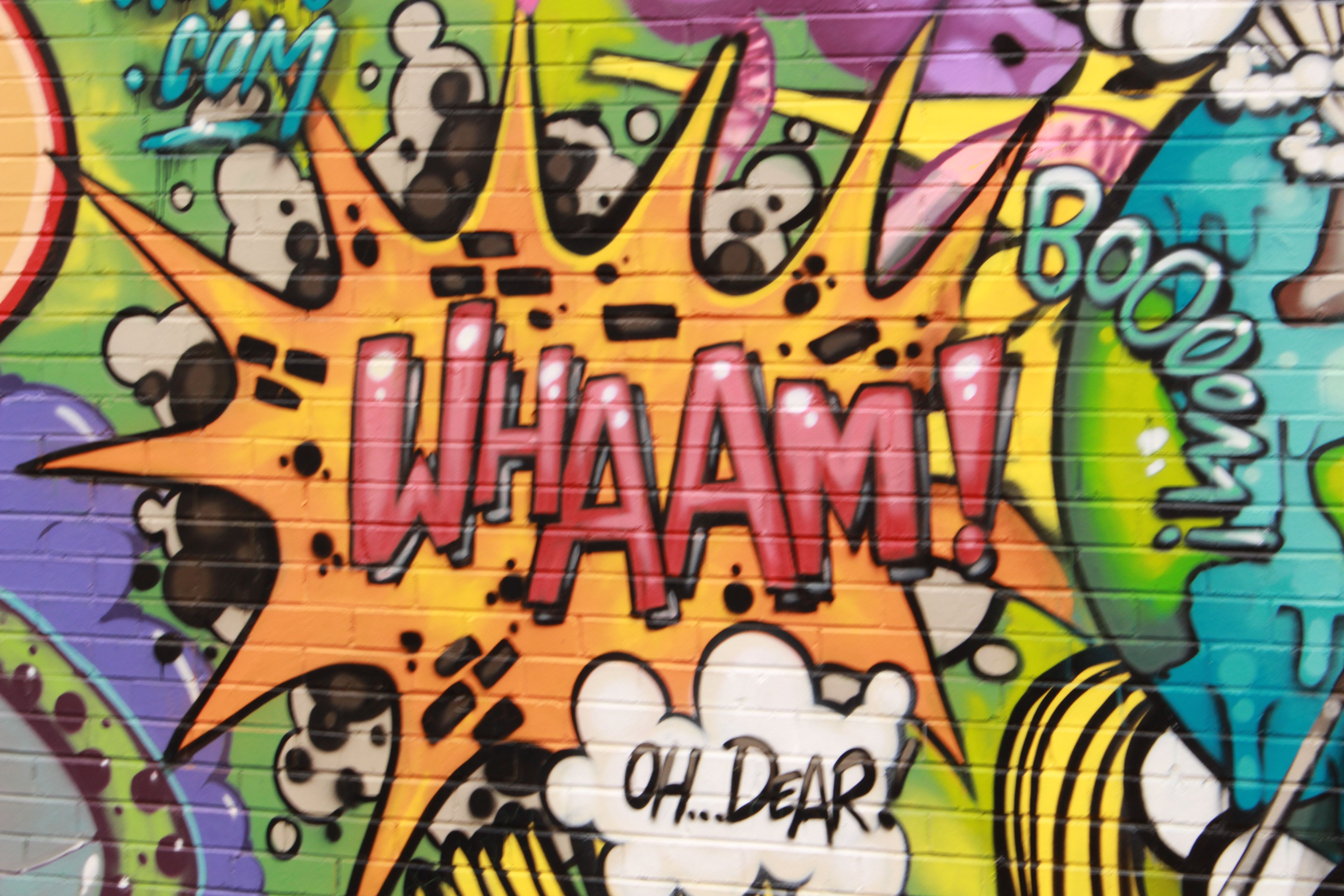 Love The Colour And Texture In The Graffiti