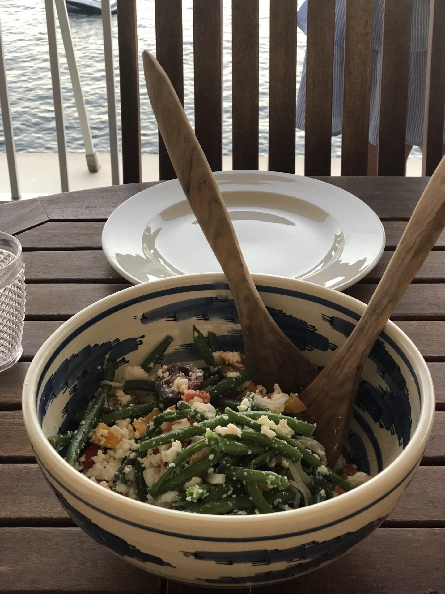 Ljummen Fetaostsallad Recept Recept