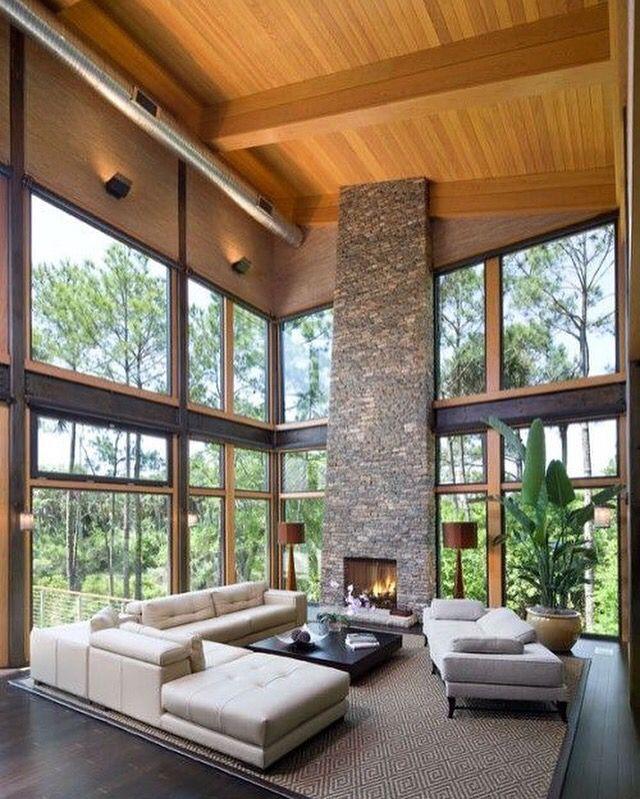 Sala techo as bajo alfombra p e c house design glass house y home decor - Alfombras contemporaneas ...