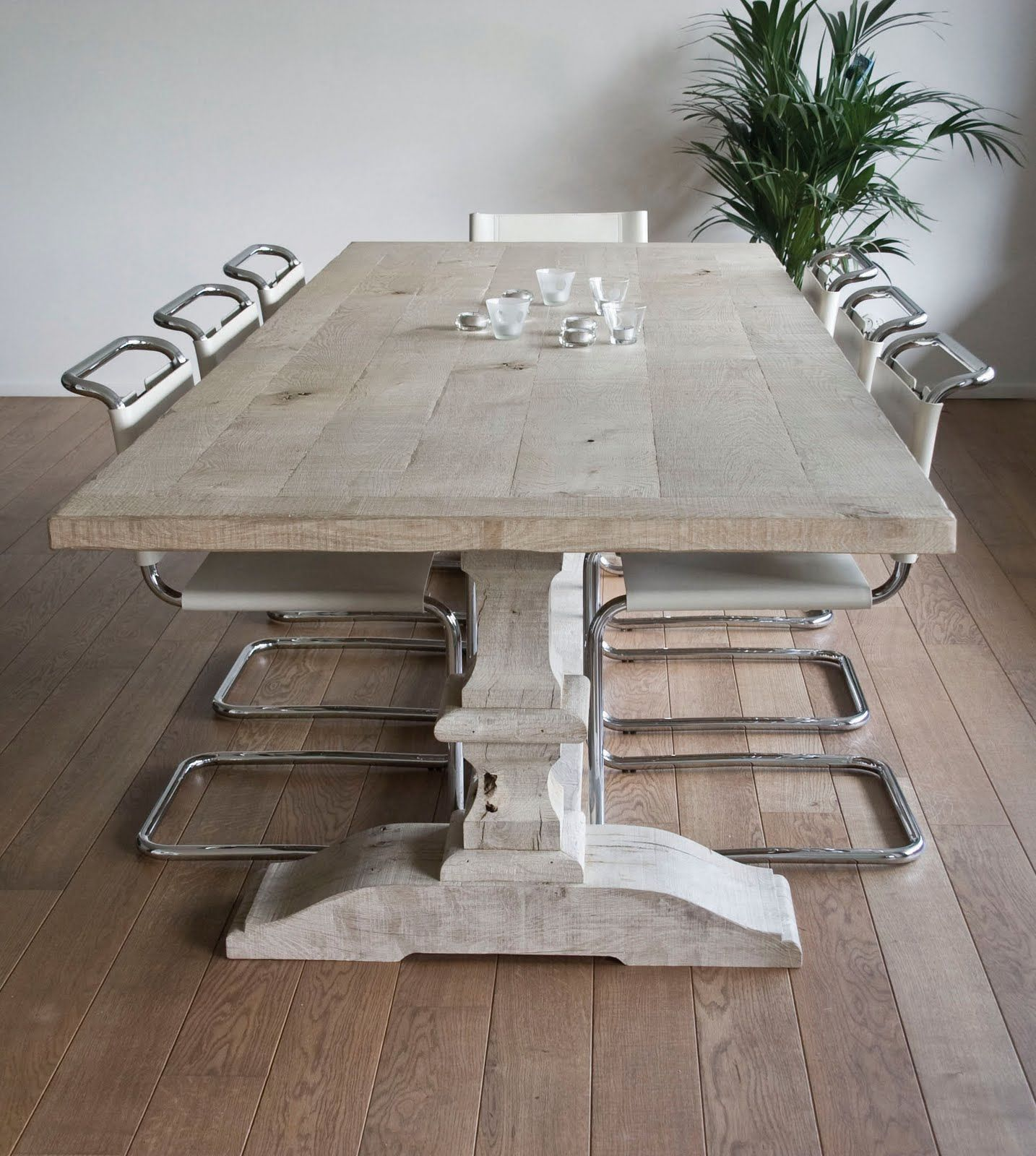 Monastery Table Desiree Farmhouse Table Salle A Manger Rustique Salle A Manger En Chene Decoration Interieure Maison Moderne