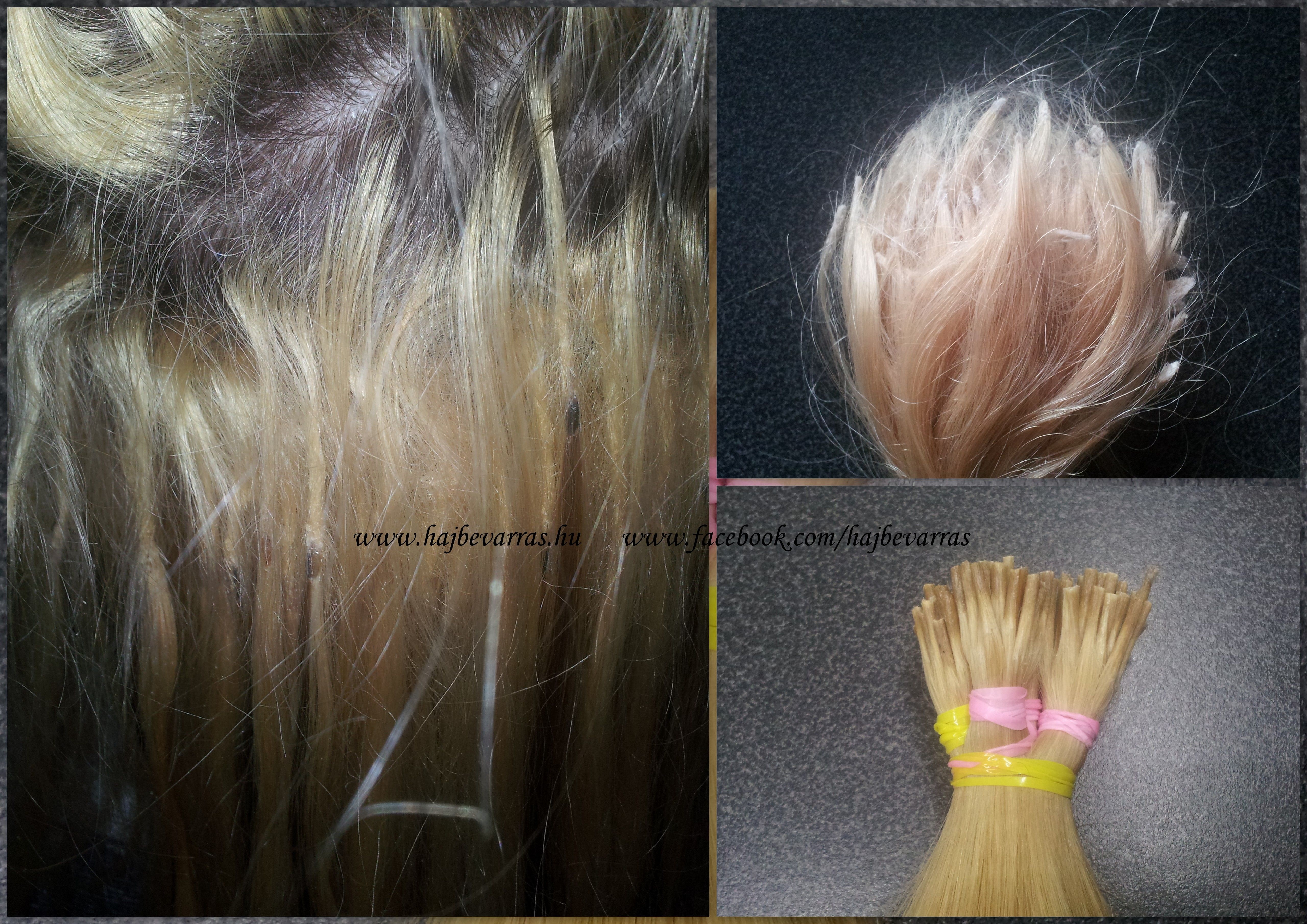 Bad Hair Extension Hajhosszabbts Hajdsts Hajbevarras