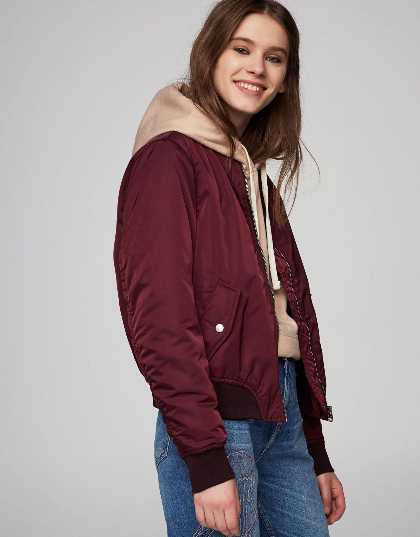 Bomber jacket Bomber jacket, Jackets, Spring outerwear