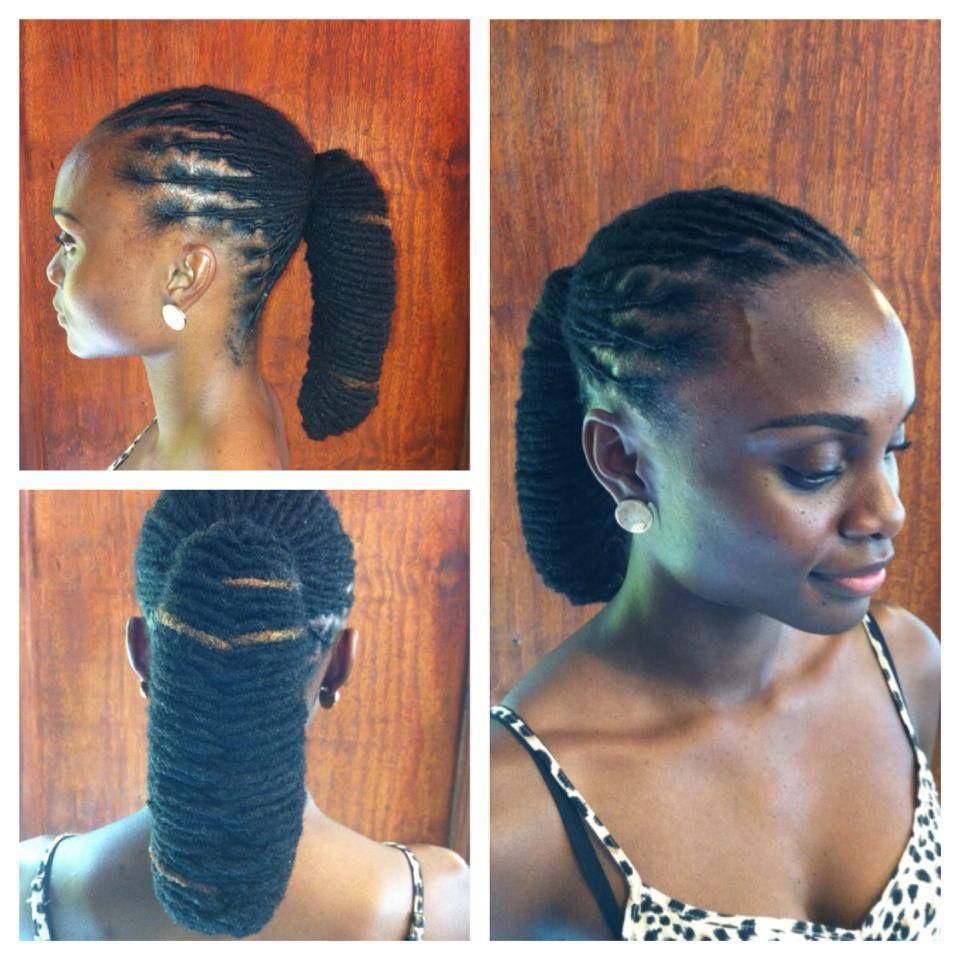 lobster ponytail by nubian naturals. it's so unique. | black
