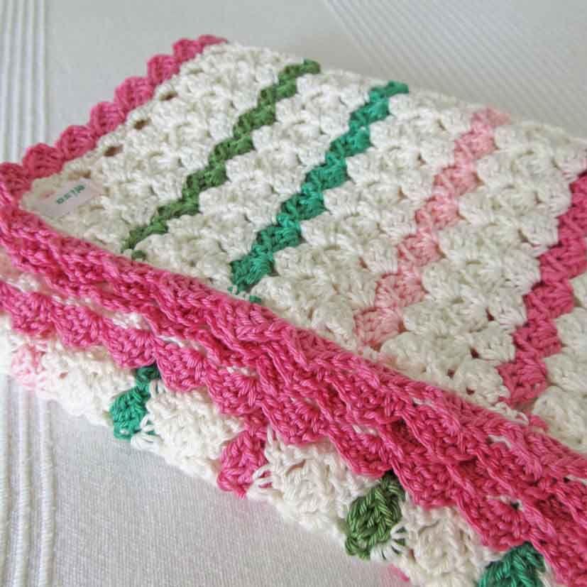 Babydecke - süße Farbcombi | Häkeln - Decken | Pinterest ...