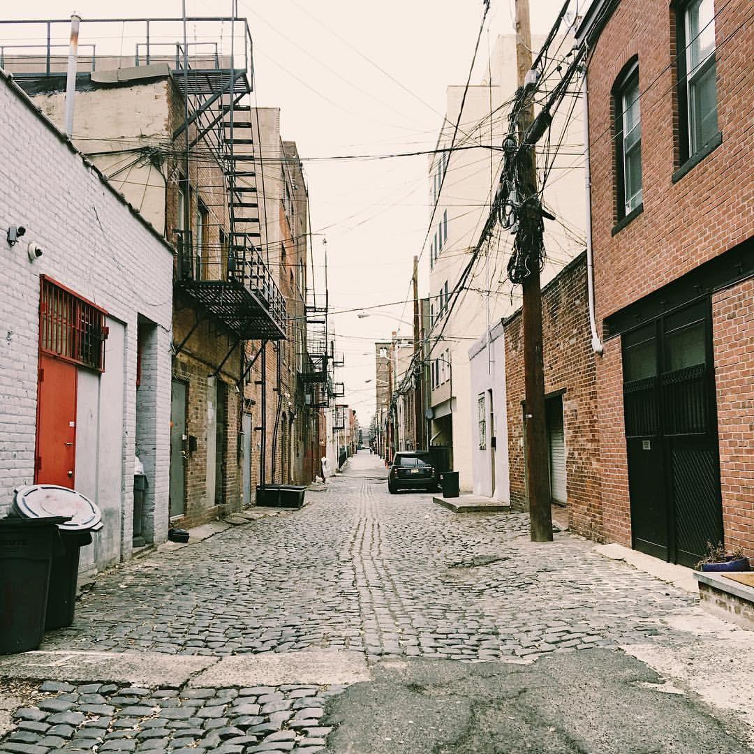 Apartments For Sale Hoboken: Alley In Hoboken, NJ. #hoboken #alley #nj In 2019