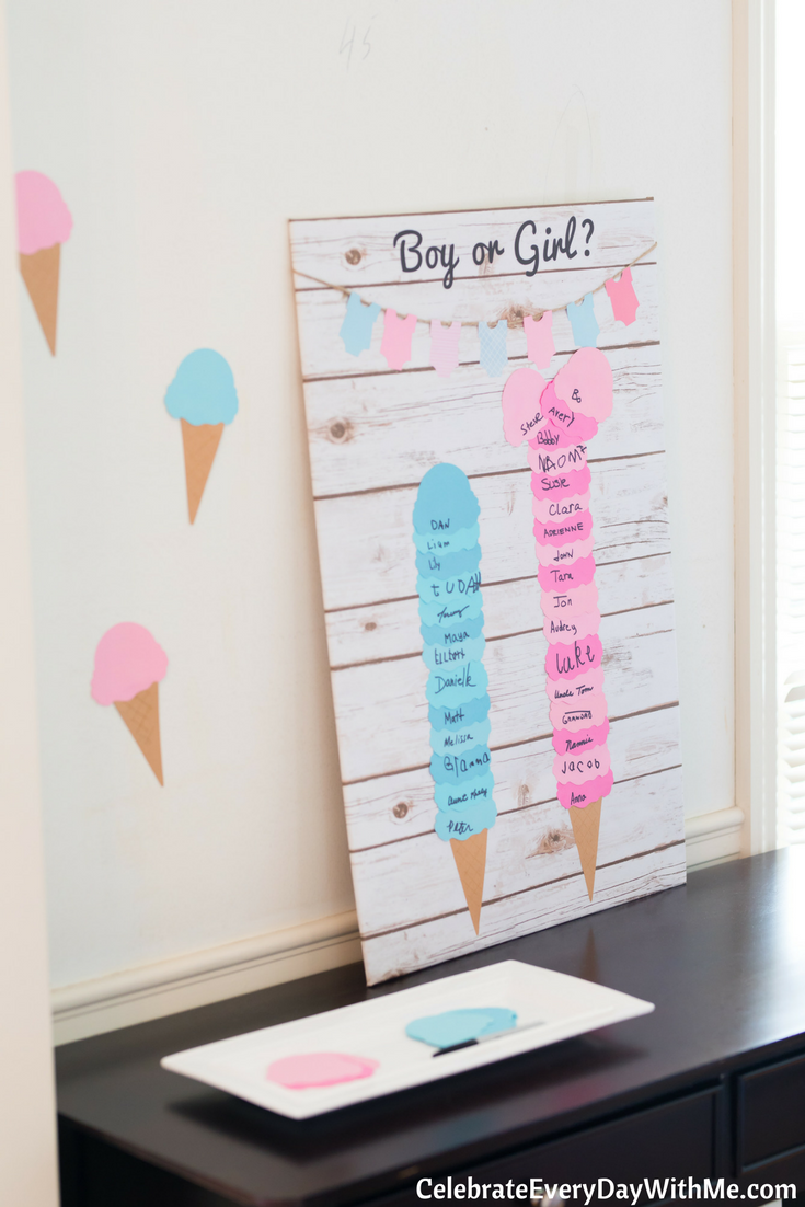 Photo of Gender Reveal Ice Cream Party – Feiern Sie jeden Tag mit mir