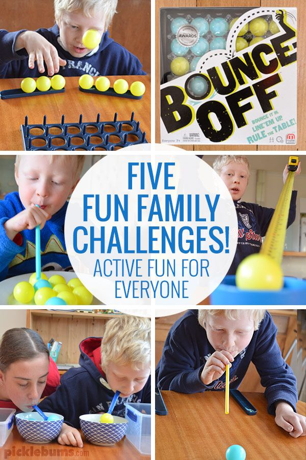 Five Fun Family Challenges Activities For Preschoolers And Older