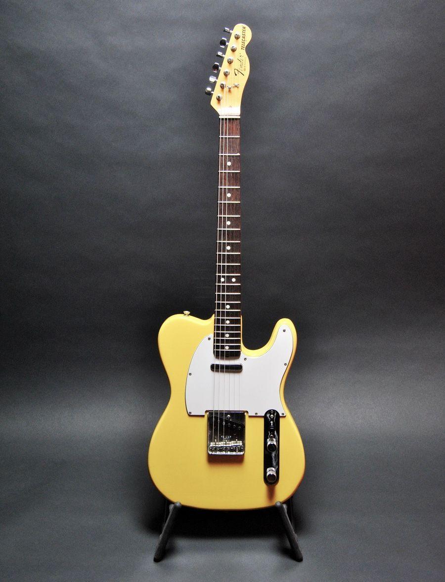 Fender Telecaster In Yellow Fendertelecaster Fender Telecaster Telecaster Telecaster Guitar