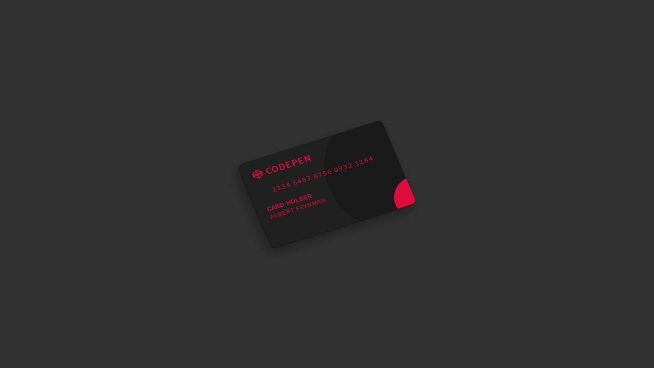 Codepen Card with CSS    | Code Pen | Web design, Design, Cards