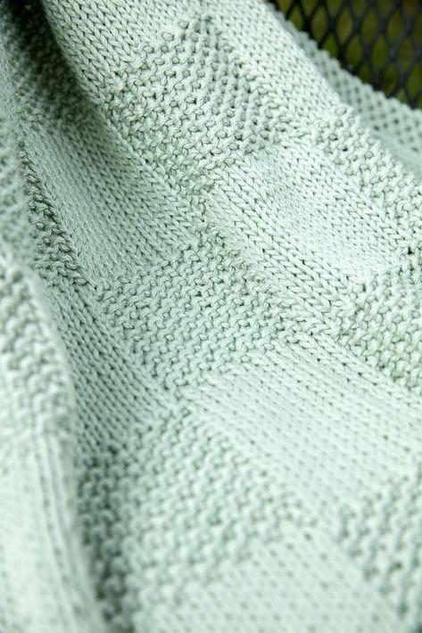 F678 Seed Blocks Baby Blanket