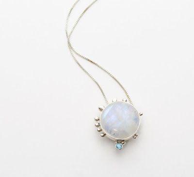 #moonstone #special bazel set #nacklace