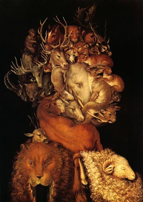 """Terra"", Giuseppe Arcimboldo (1570)"