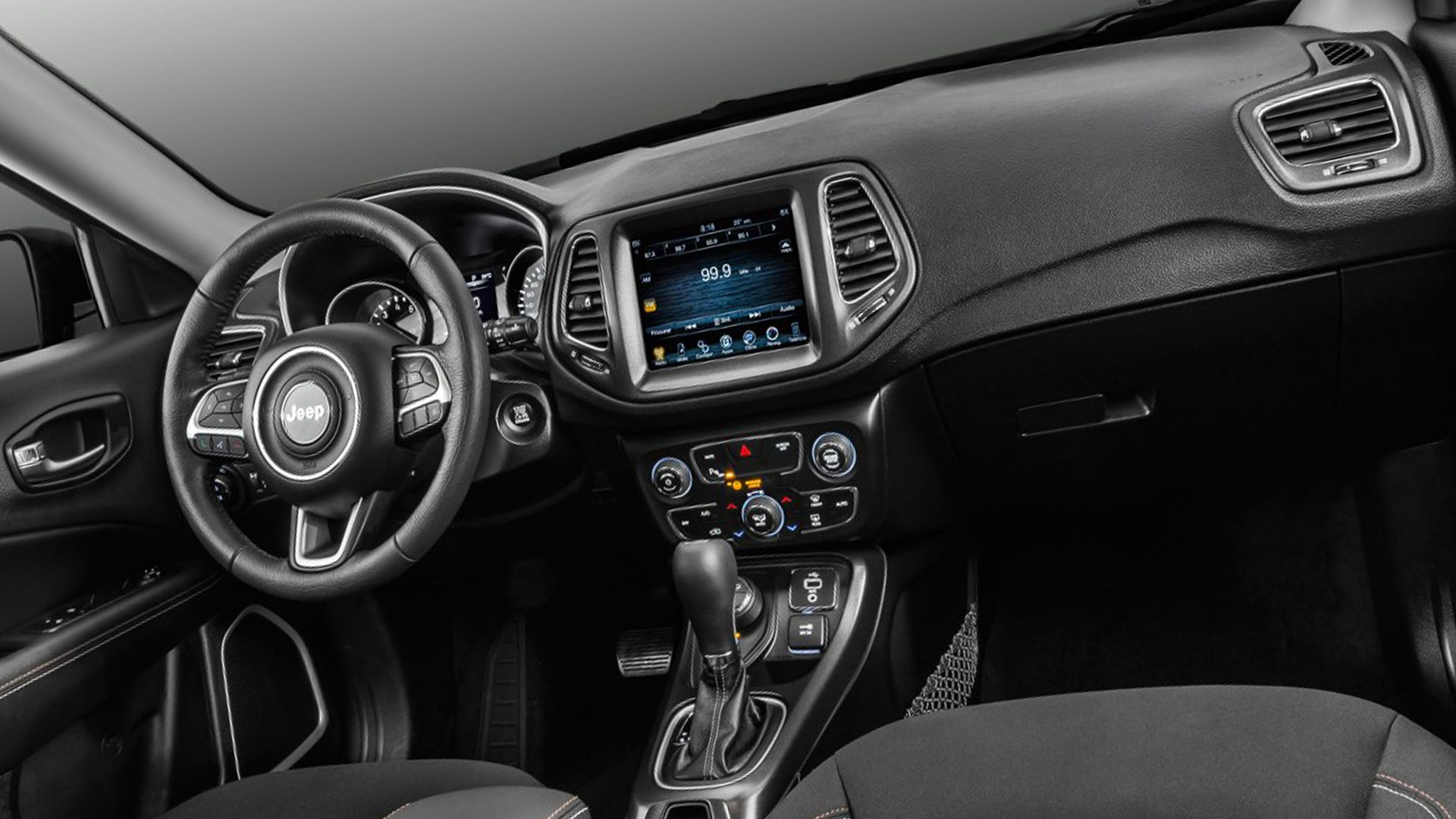 2019 Jeep Compass Interior Design