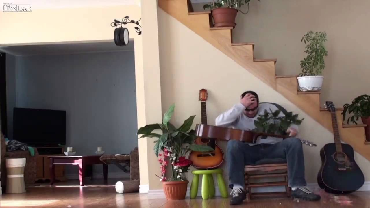 Cat Owner Instant Karma---This is GREAT! He got his!