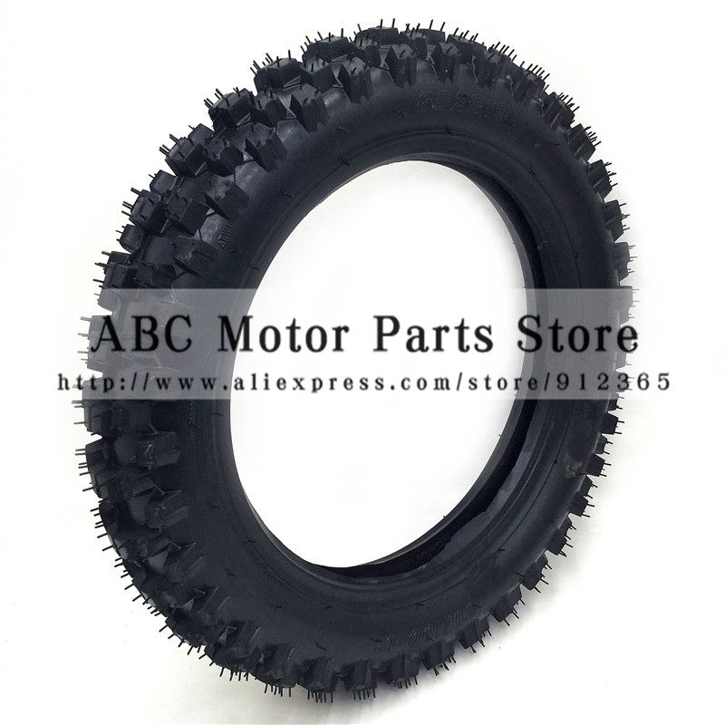 80 100 12 Rear Wheel Tire Out Tyre 12inch Deep Teeth Dirt Pit Bike Off Road Motorcycle Use Guang Li Off Road Motorcycle Pit Bike Motorcycle Accessories