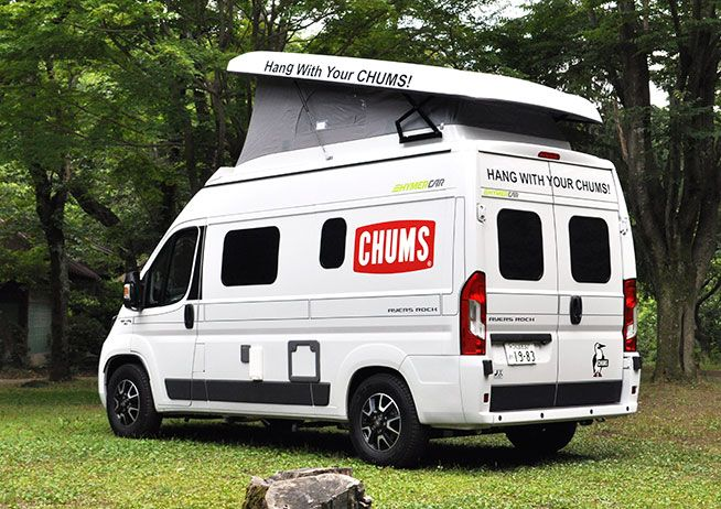 Hymercar Ayersrock Chums Edition レンタルキャンピングカー Rvランド イオンモールつくば店 キャンピングカー イオンモール