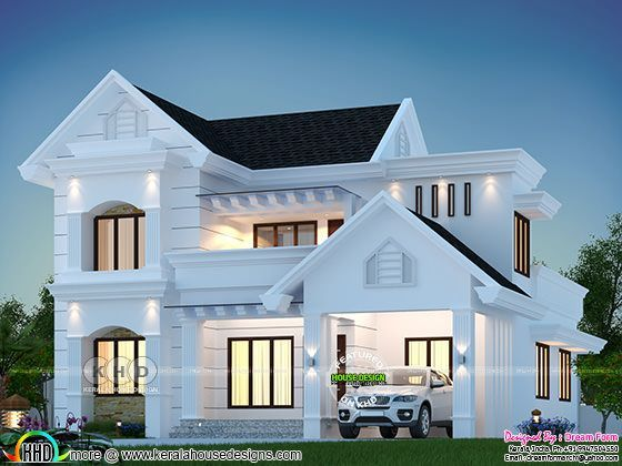 December 2019 House Designs Starts Here In 2020 Bungalow House Design Kerala House Design Modern Exterior House Designs