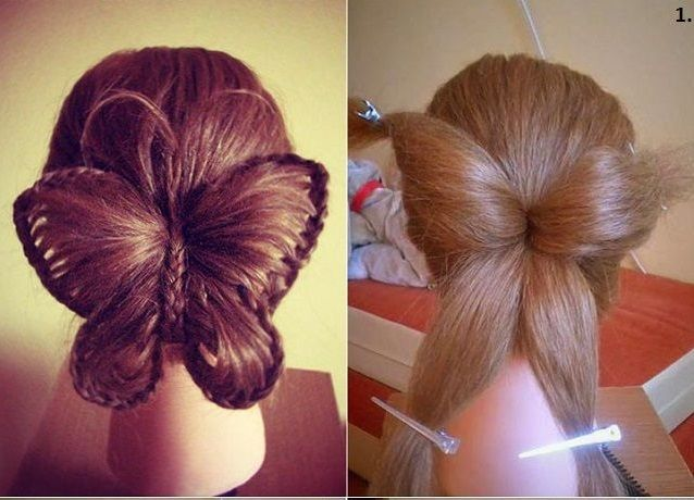 Learn How To Make Nice Hair Style Butterfly Hairstyle Hair Styles Cool Hairstyles