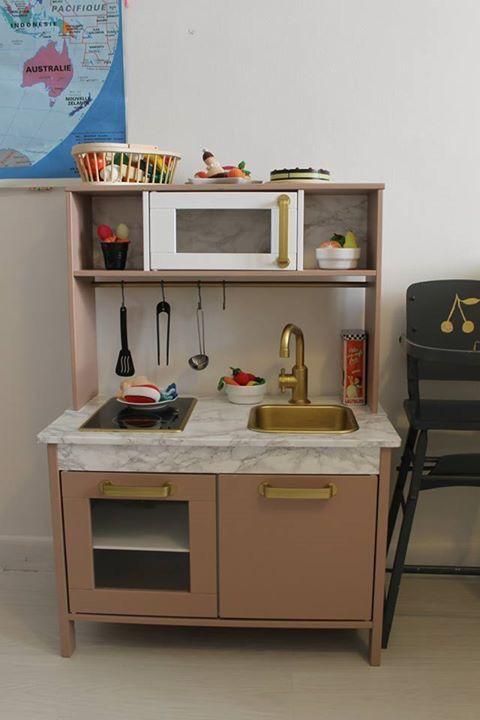 Ikea hack cuisine enfant customisation diy https diabolomenthecitron wordpress com