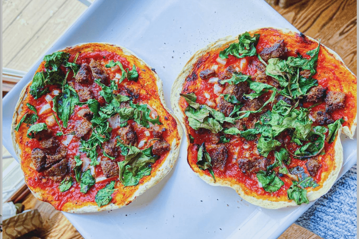 so easy air fryer pizzas in 2020 Recipes, Gluten free