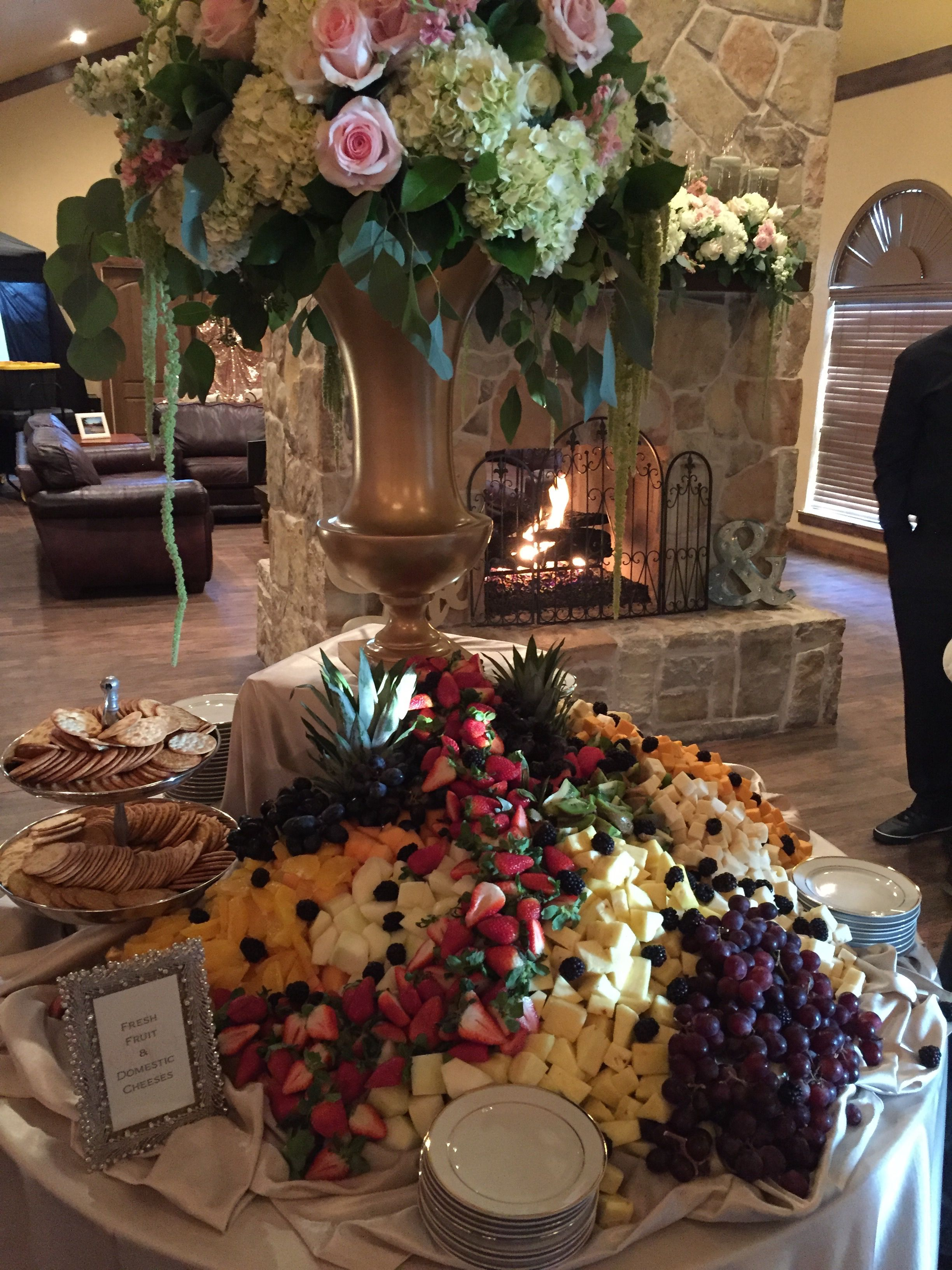 Catering by Chef Robert Aranson Flowers by A Wedding u Party
