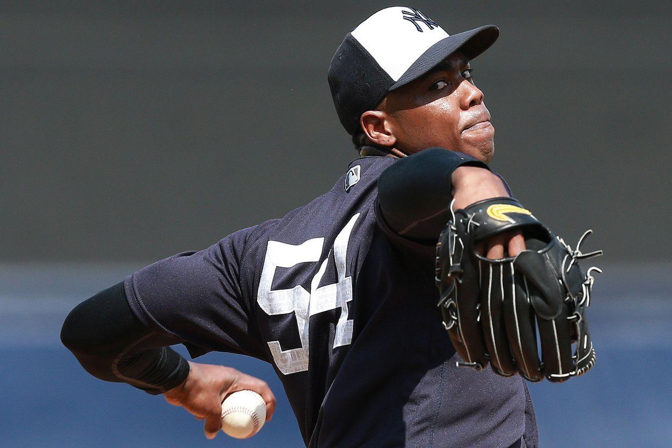 How Will Aroldis Chapman S Return Affect The Yankees Bullpen Roles Chapman Yankees Yankees Bullpen