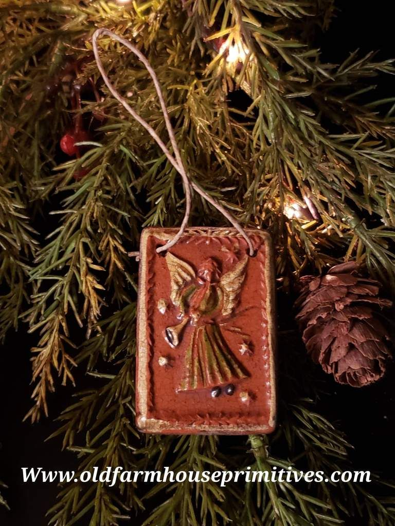 Shpc46 Shooner American Redware Angel Christmas Ornament Made In Usa In 2020 Christmas Angels How To Make Ornaments Christmas Ornaments