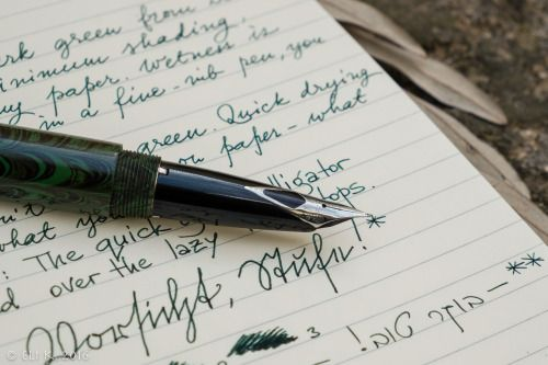 #Sheaffer / PSP / Ranga 4CS, Cult Pens (Diamine) Deep Dark Green