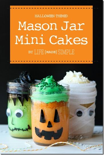 Halloween Mason Jar Ideas to Make Yourself Pinterest Happy - halloween jar ideas