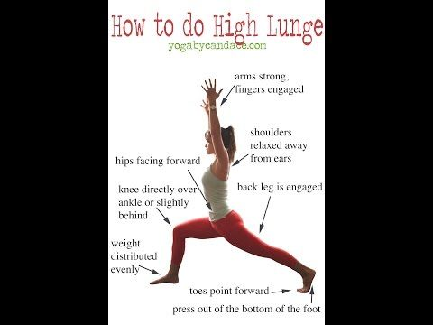 how to do a high lunge  yoga anatomy yoga tips yoga moves