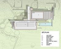 Site Plan Marin Coastal Residence Aidlin Darling Design Site Plan Architecture Building Design