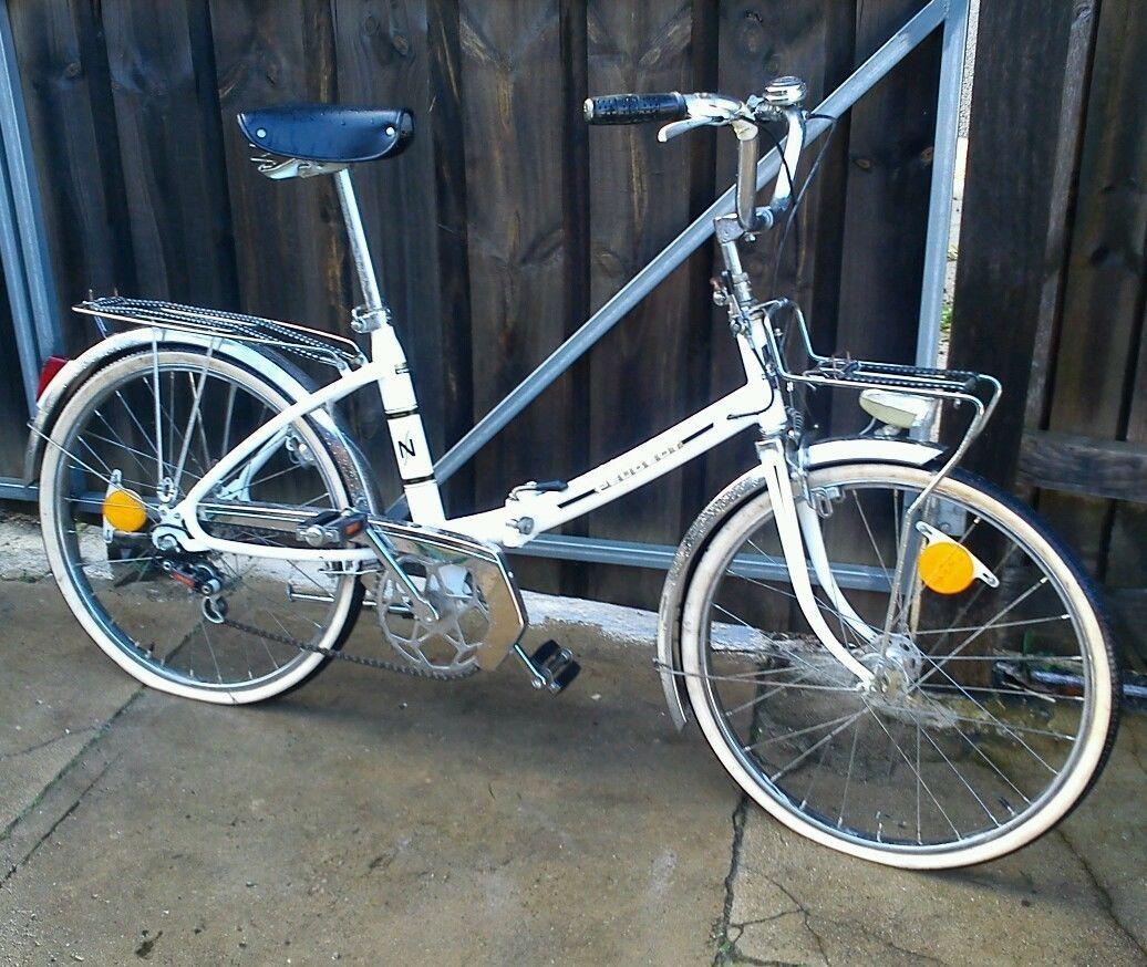 vintage peugeot nouveau style folding bicycle in hampton, vic | ebay