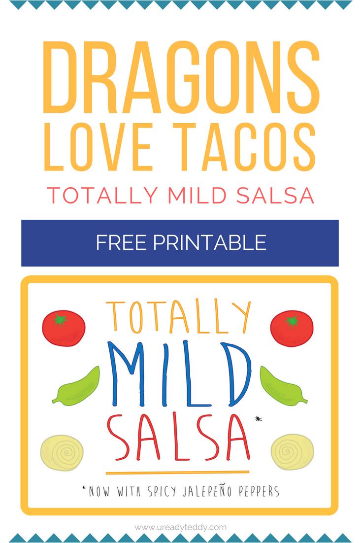 dragons love tacos slime recipe free printable mild salsa