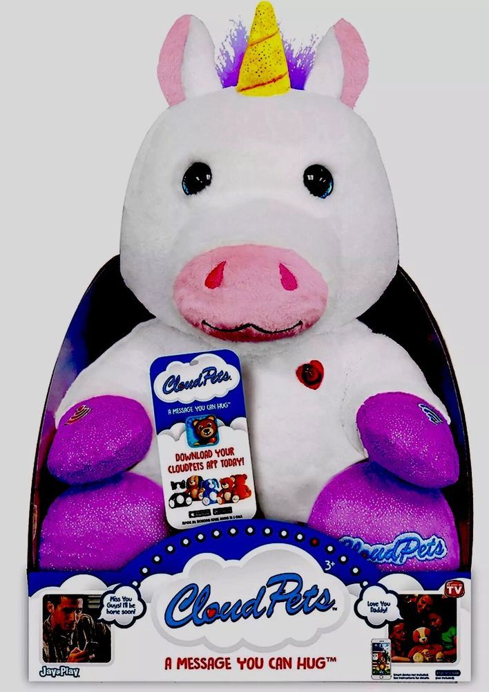 Cloudpets Unicorn Toy Interactive New In Package Mycloudpets Plush