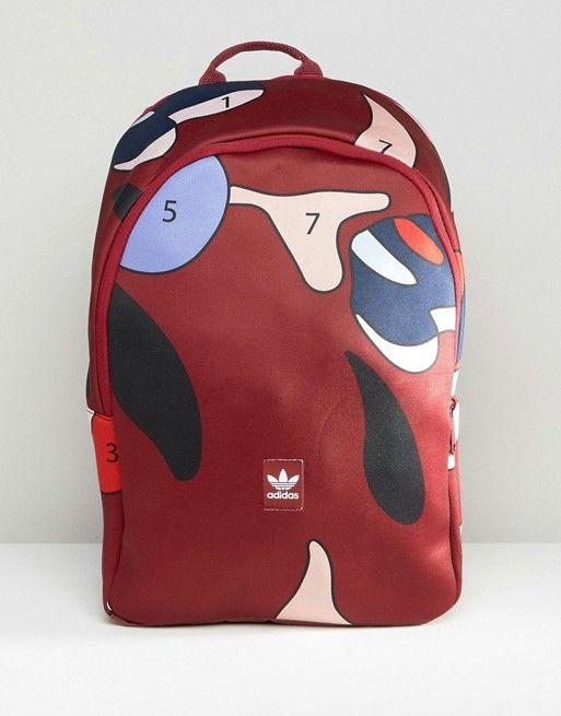 adidas Originals X Rita Ora Paint Print Backpack in 2019