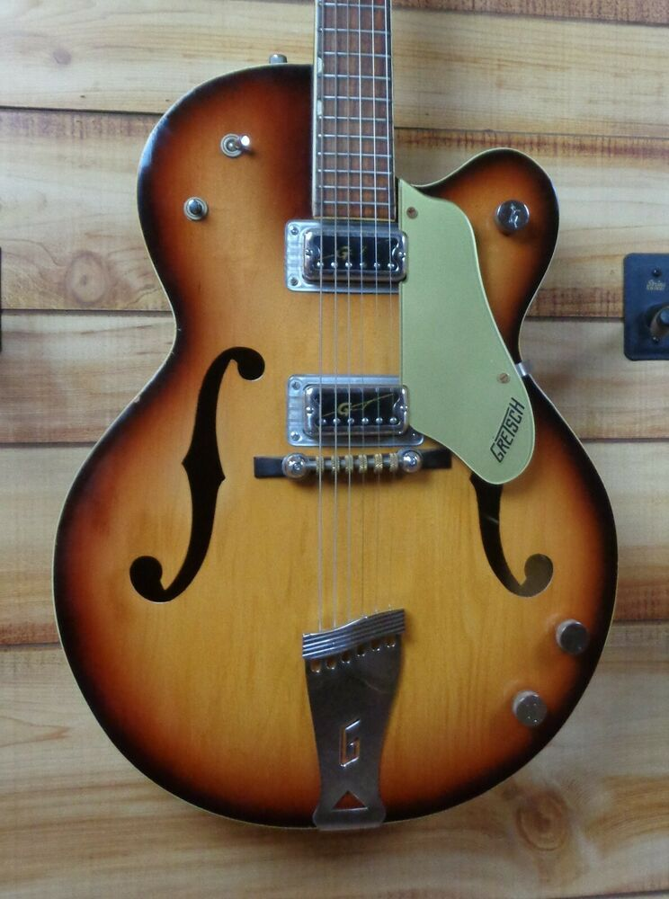 Details about used 1967 gretsch 6117 double anniversary