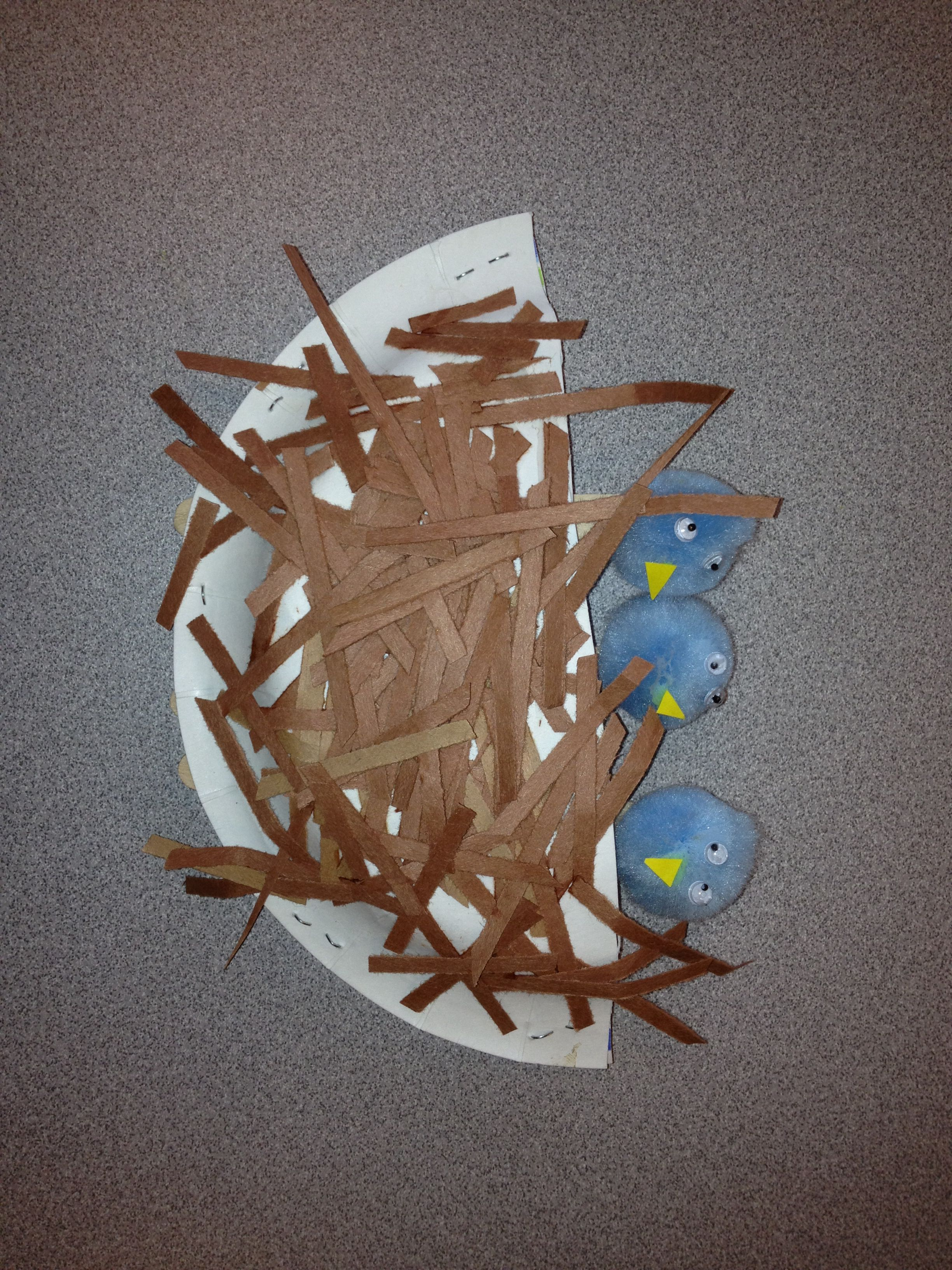 Birds Nest Craft I Use It For Letter N Week