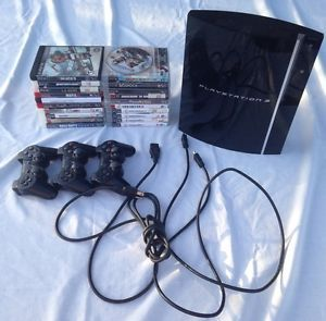 Playstation PS3 Bundle With 21 Games 3 Controllers And Cables CECHL01 https://t.co/xU7PFtZLta https://t.co/UQflUVQxks