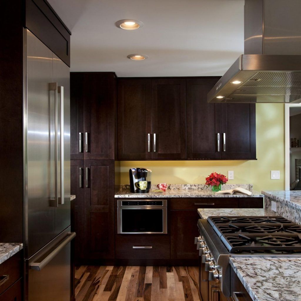 Best Wood Floor Color For Small Space | http://dreamhomesbyrob.com ...