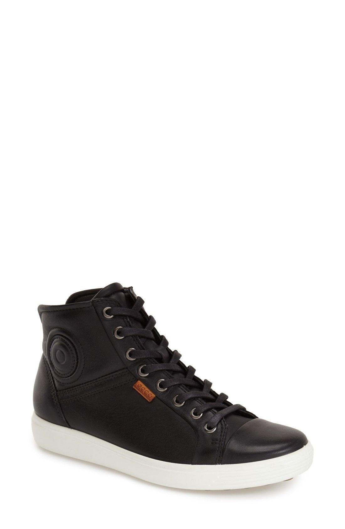 ECCO | 'Soft 7' High Top Sneaker #Shoes #Sneaker #ECCO ...